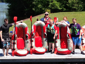 Family Rafting Picture
